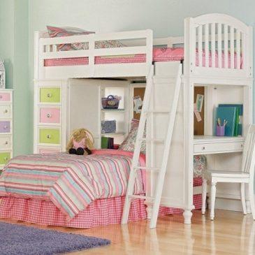 Giường tầng trẻ em nên chọn sơn màu gì?