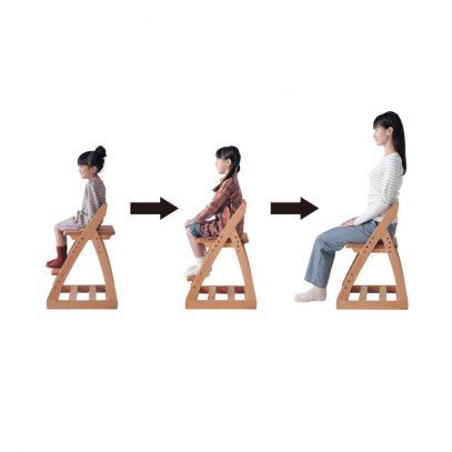 Ghế phù hợp với cả trẻ nhỏ lẫn người trưởng thành
