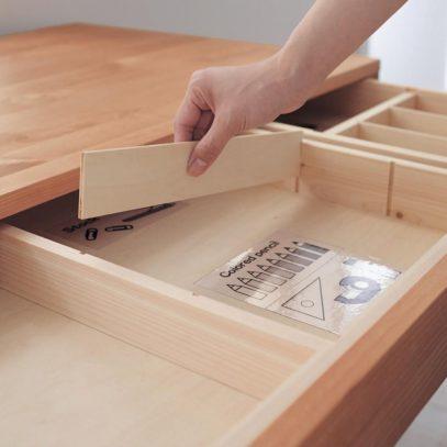Các tấm ngăn có thể tháo lắp dễ dàng