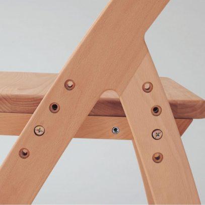 Bề mặt ghế có thể thay đổi độ cao (4 mức)